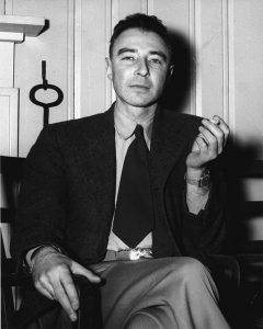 J. Robert Oppenheimer in 1946, public domain on Wikimedia Commons