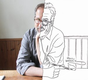 Cartoonist Paul Karasik visits Arts One & gives public lecture