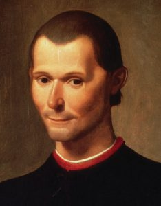 Machiavelli portrat by Santi di Tito, public domain on Wikimedia Commons