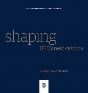 UBC Strategic Plan….and Arts One!