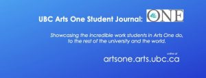 New issue released for student journal, ONE