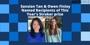 Congratulations to This Year's Straker Prize Recipients!